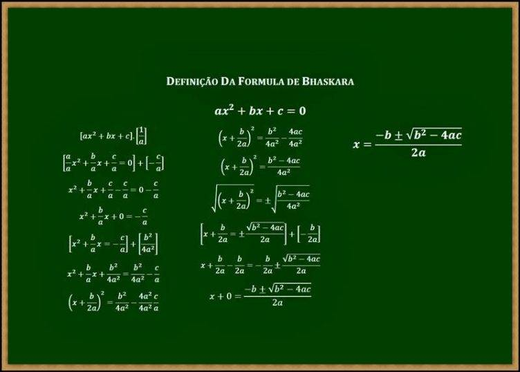 Como aprender Fórmula de Bhaskara?