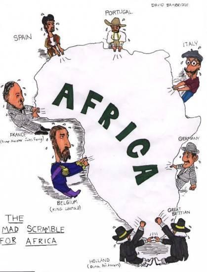 O Domínio do Continente Africano