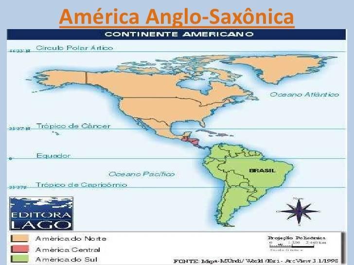 América Anglo-Saxônica: Aspectos Econômicos