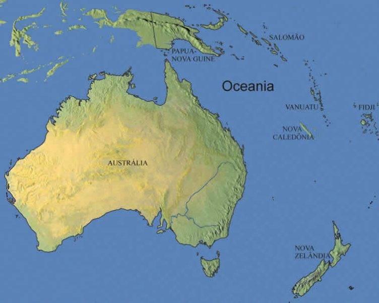 Oceania – Aprenda mais Sobre o Continente