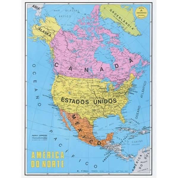 América do Norte – Relevo, Hidrografia e Cultura