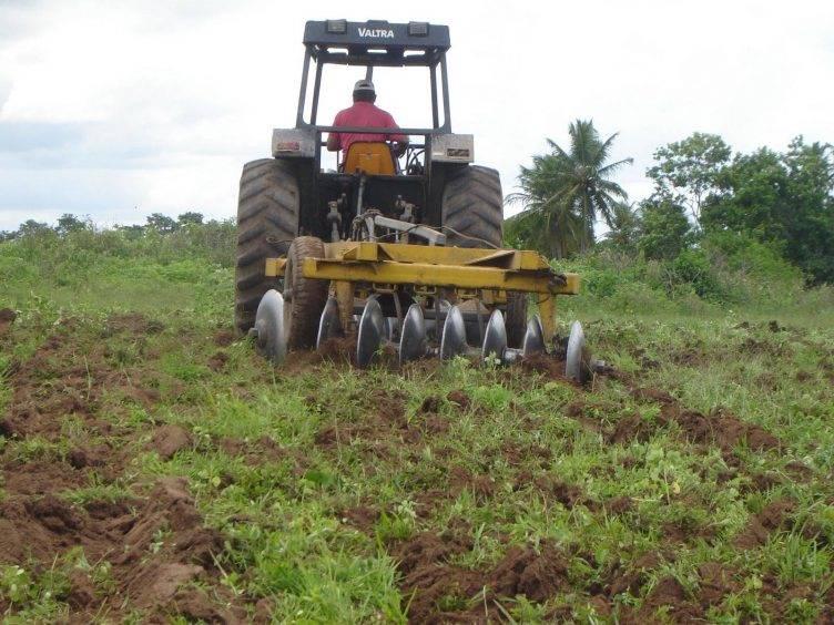 As condições físicas geográficas na atividade agrícola