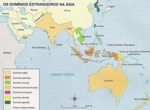 Descolonização da Ásia