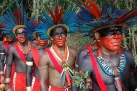 Os espaços dos indígenas
